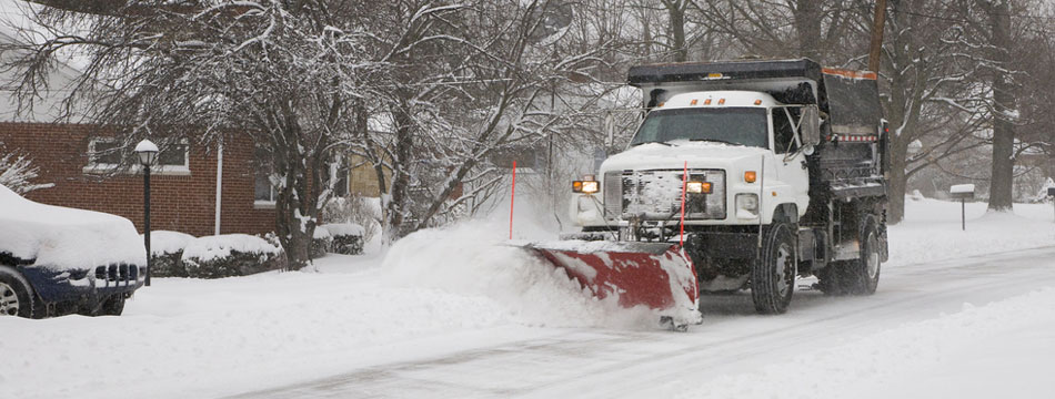This is Commercial Snow Removal Services
