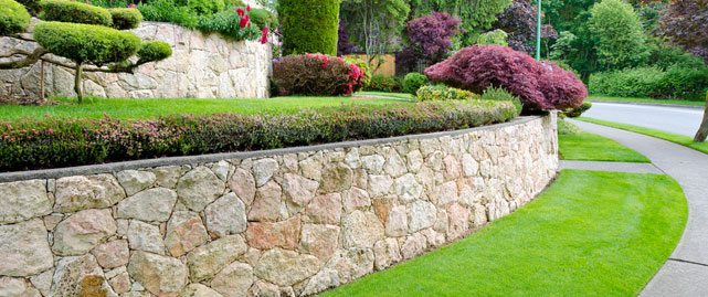 This is Landscape Installation stoneworks Image