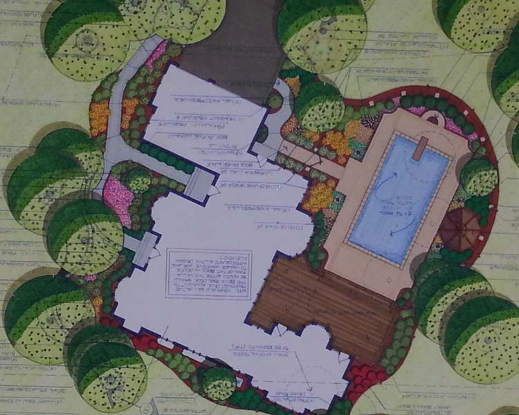 This is Landscape Design Commercial Image